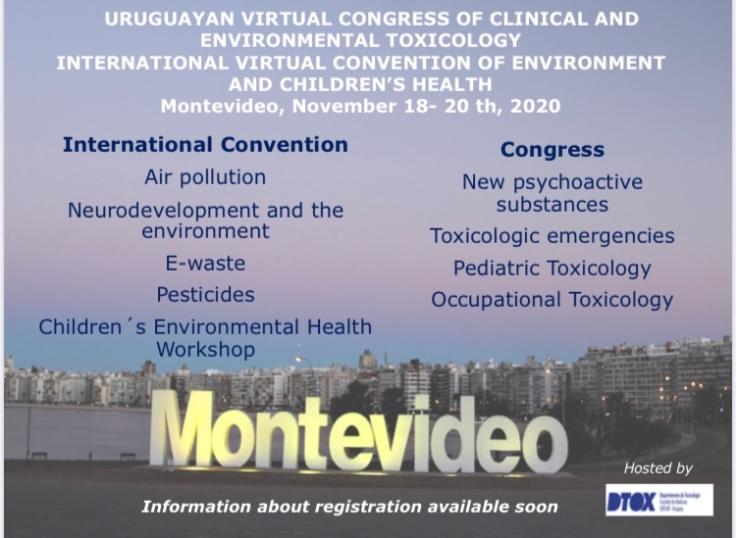 International Virtual Convention on Env. and Chlidren Health Uruguay Nov. 2020